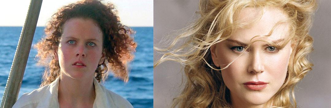 Николь Кидман, осенний цветотип, удачно высветленный до блонда